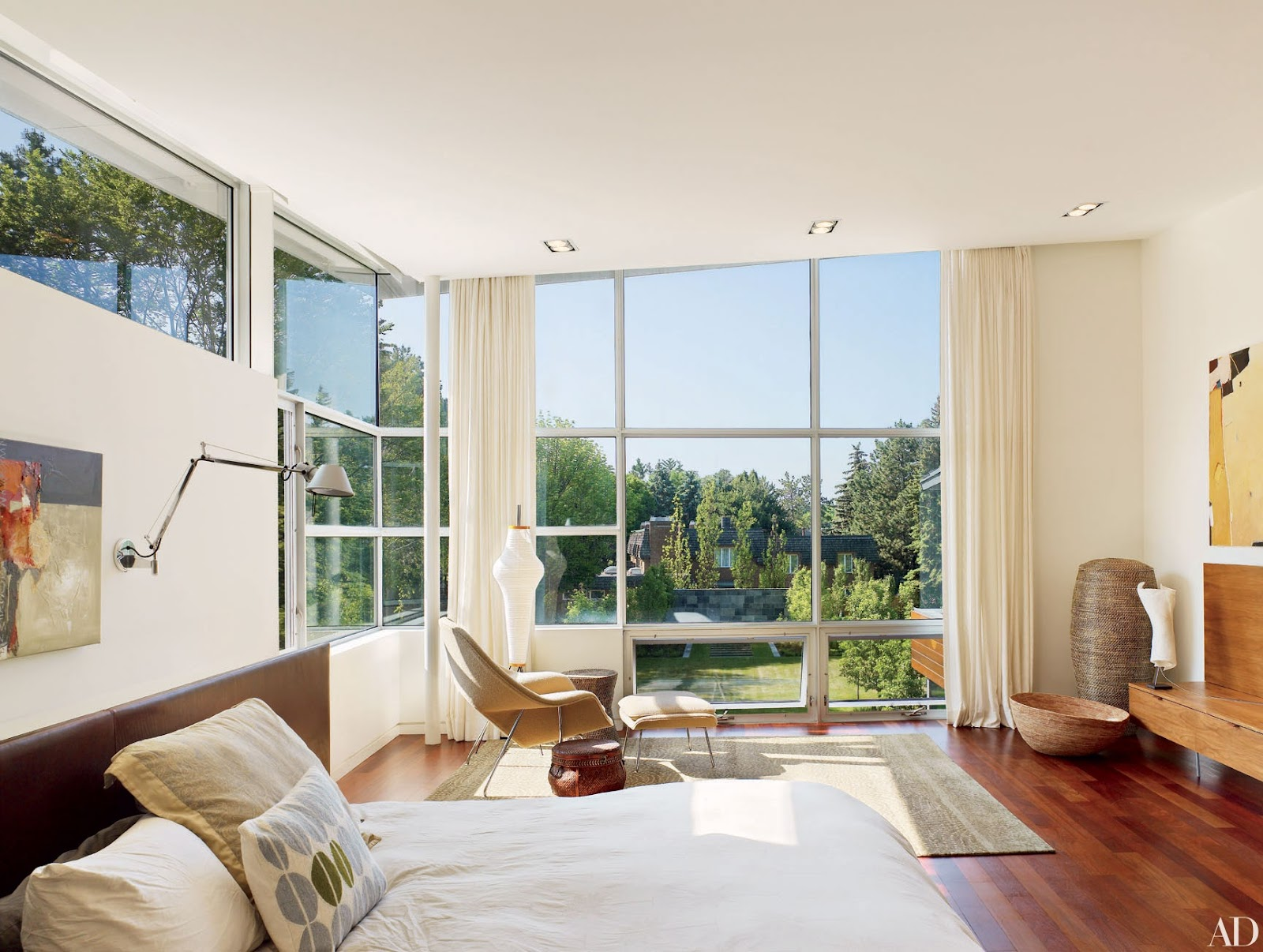 Let The Natural Light in the Couples Bedroom Ideas