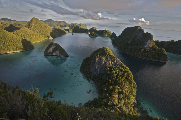 view of indonesia island