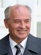 Obraz znaleziony dla: michaił gorbaczow