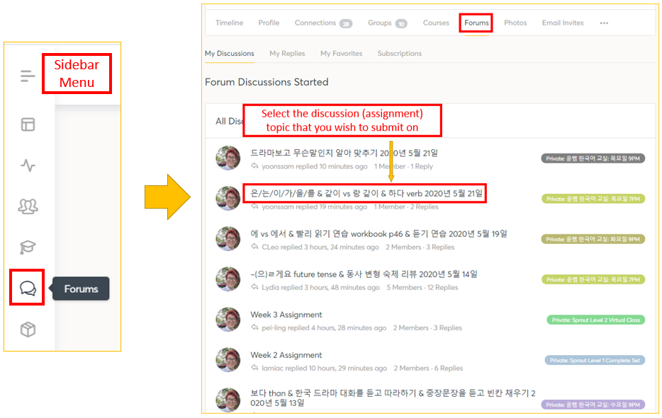 How To Submit Assignments on uBitto Community Group 7