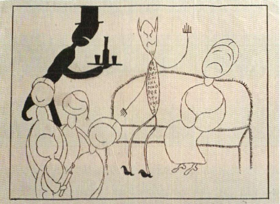 bazlen disegno psicoanalitico diavolo cameriere.jpg