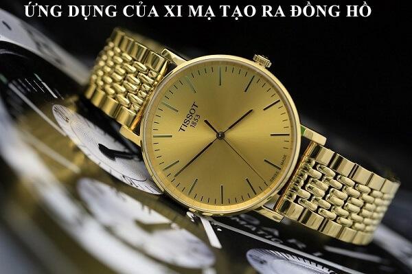 Ứng dụng của xi mạ tạo nên vẻ đẹp của đồng hồ