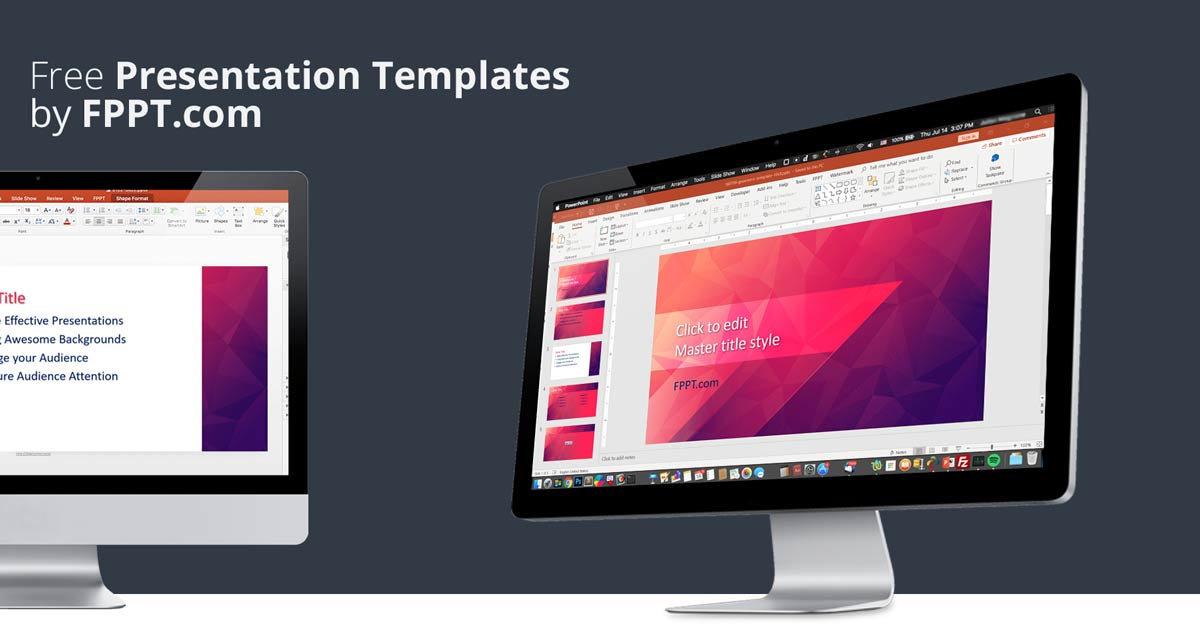FPPT.com: Create Great Presentations with Free Presentation Templates