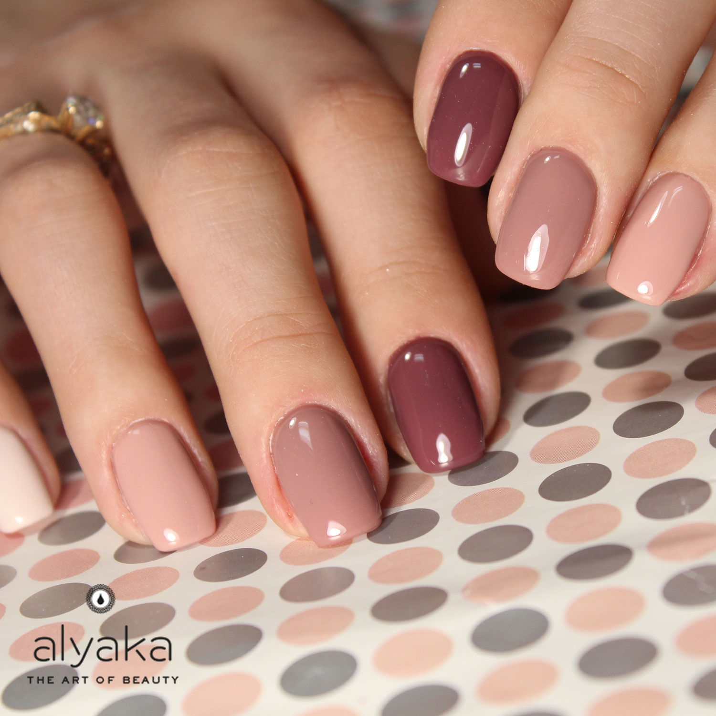 Mauve Nail Color