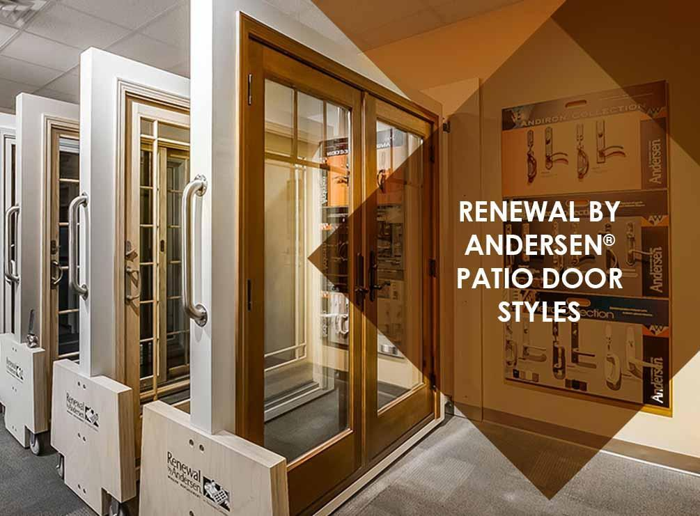 Renewal by andersen patio door styles for French door style patio doors