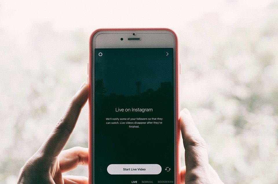 Instagram Application Phone - Free photo on Pixabay