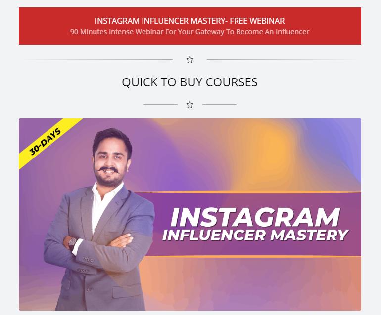 Teach as an instagram influencer