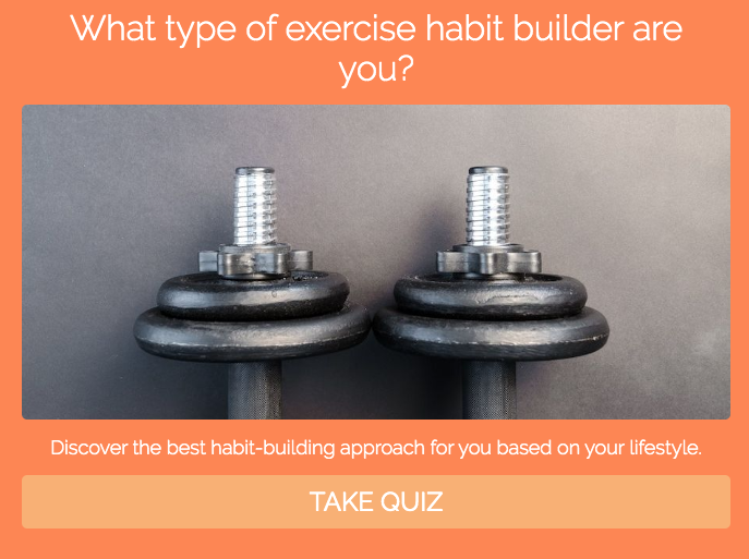 what type of exercise habit builder are you? quiz cover