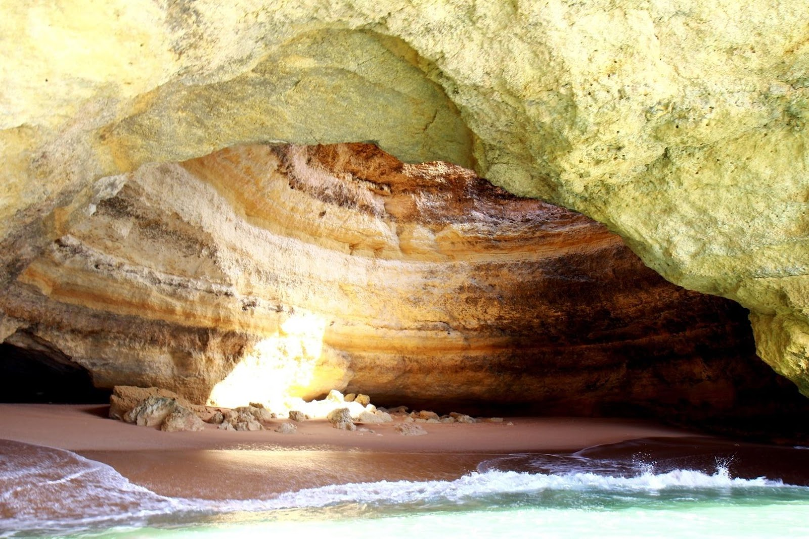 Jaskyňa Benagil Faro