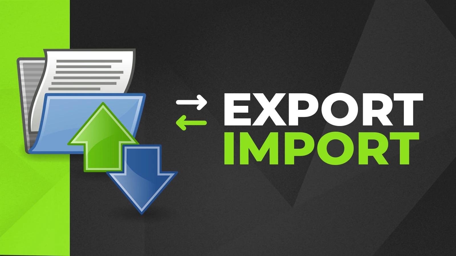 Exxport-Import App
