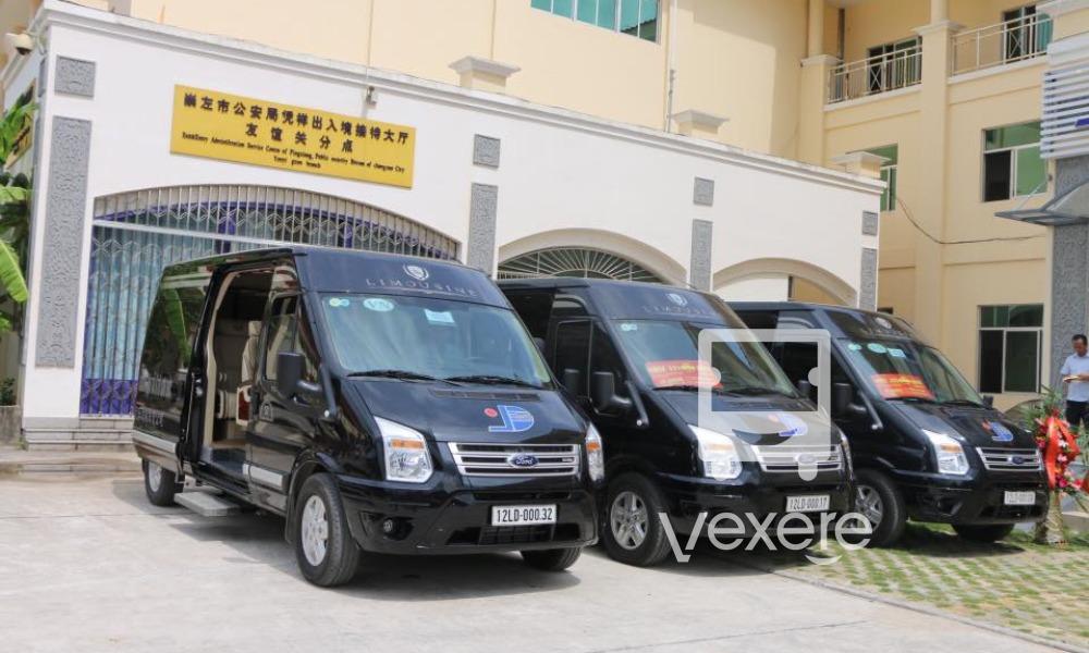 Xe Limousine Hongai - Sơn Đức đi Nam Ninh