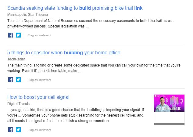 Google alerts оповещения для SEO результаты