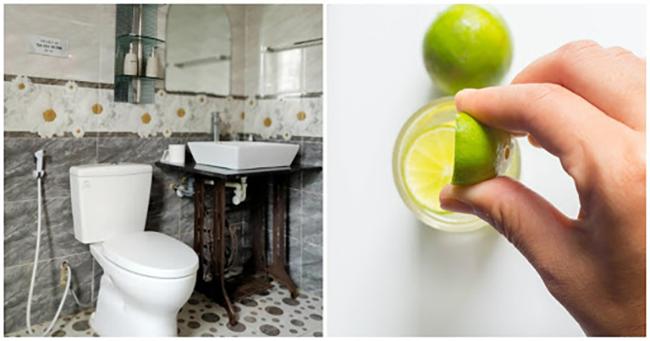 Khử mùi hôi nhà vệ sinh vô cùng đơn giản