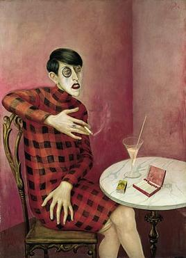 Otto Dix  Bildnis der Journalistin Sylvia von Harden (Portrait of the Journalist Sylvia von Harden)