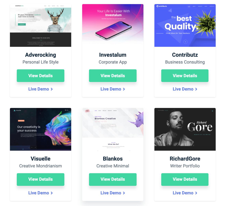 Crocoblock WordPress themes