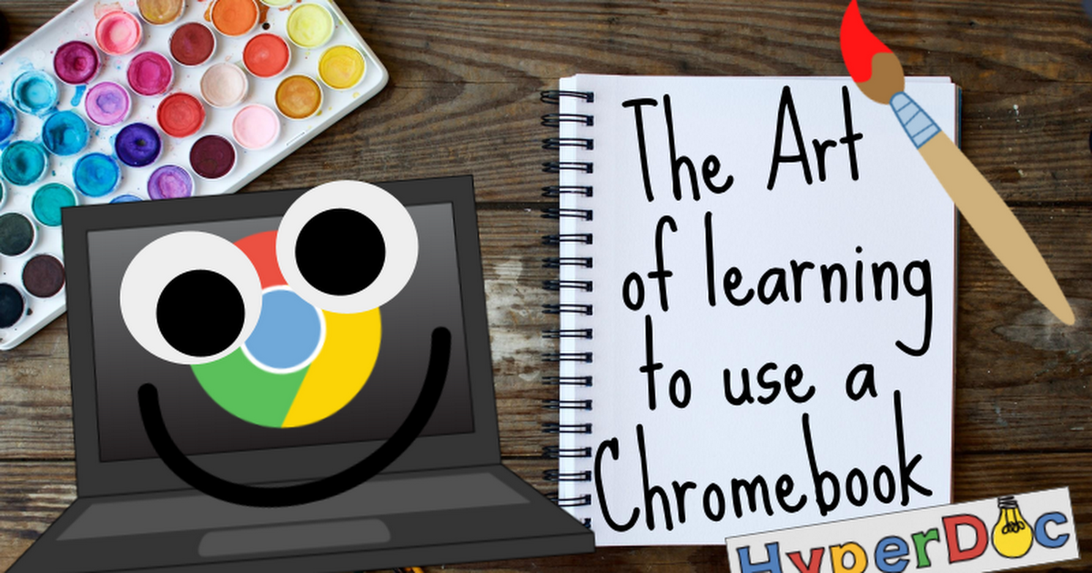 The Art of Learning to use a Chromebook