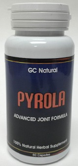 Pyrola Advanced Joint Formula capsules bottle image