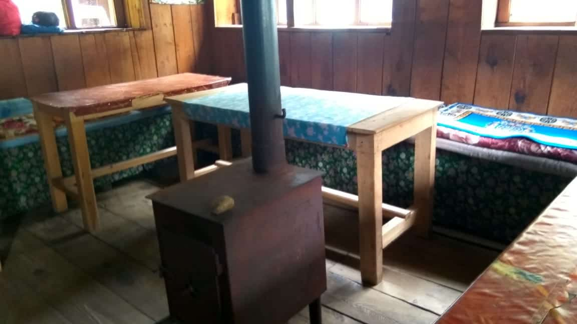 langtang valley trek dining room