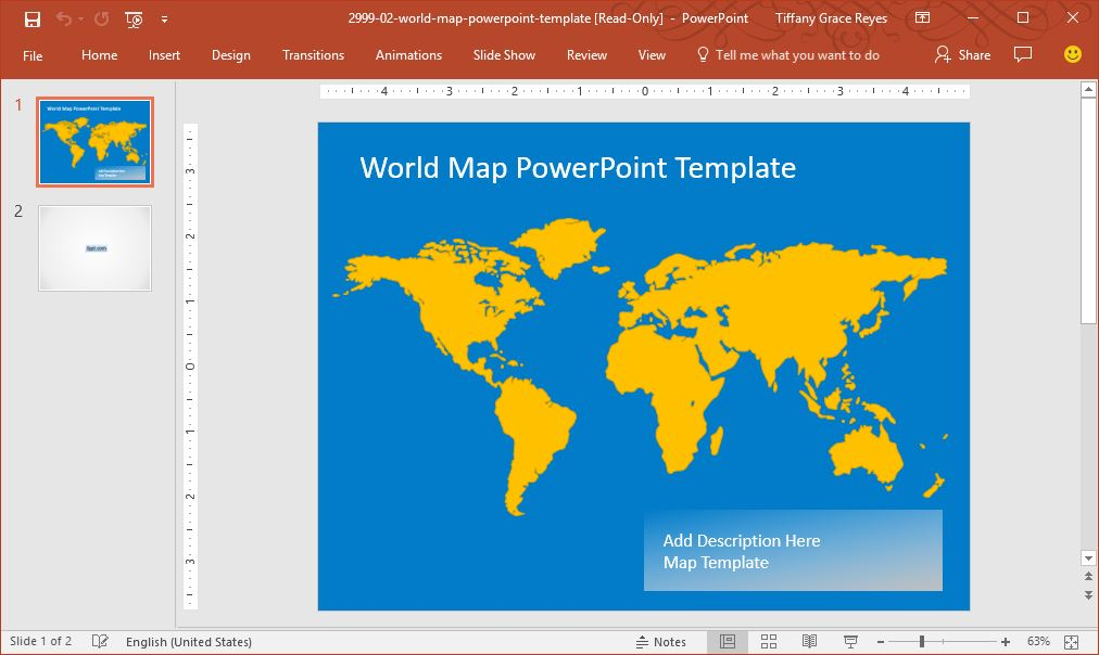 world-map-powerpoint-template