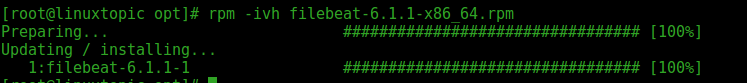 download filebeat 6,Filebeat 6 configuration in Centos 7, Lightweight Data Shippers,filebeat, filebeat6. filebeat 6