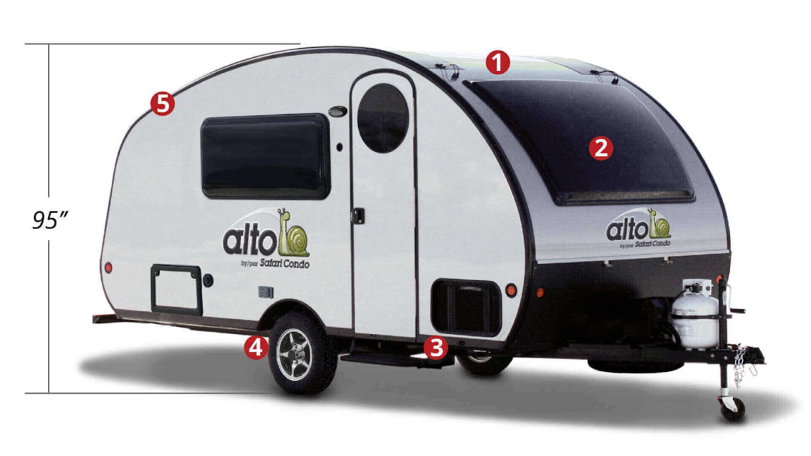 Alto F1743 travel trailer