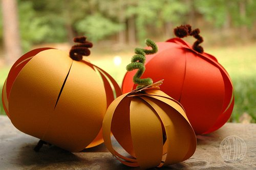 Paper Gourds: These 25 Thanksgiving Crafts for Kids will get everyone into the thanksgiving spirit.