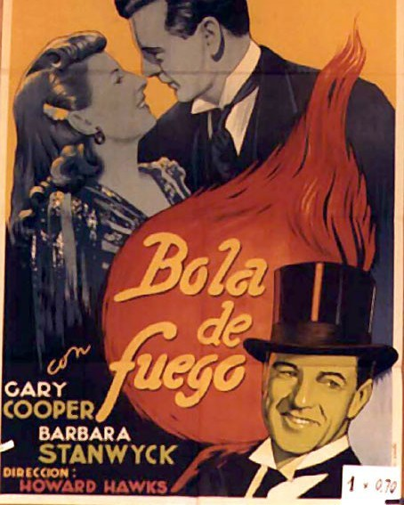 Bola de fuego (1941, Howard Hawks)