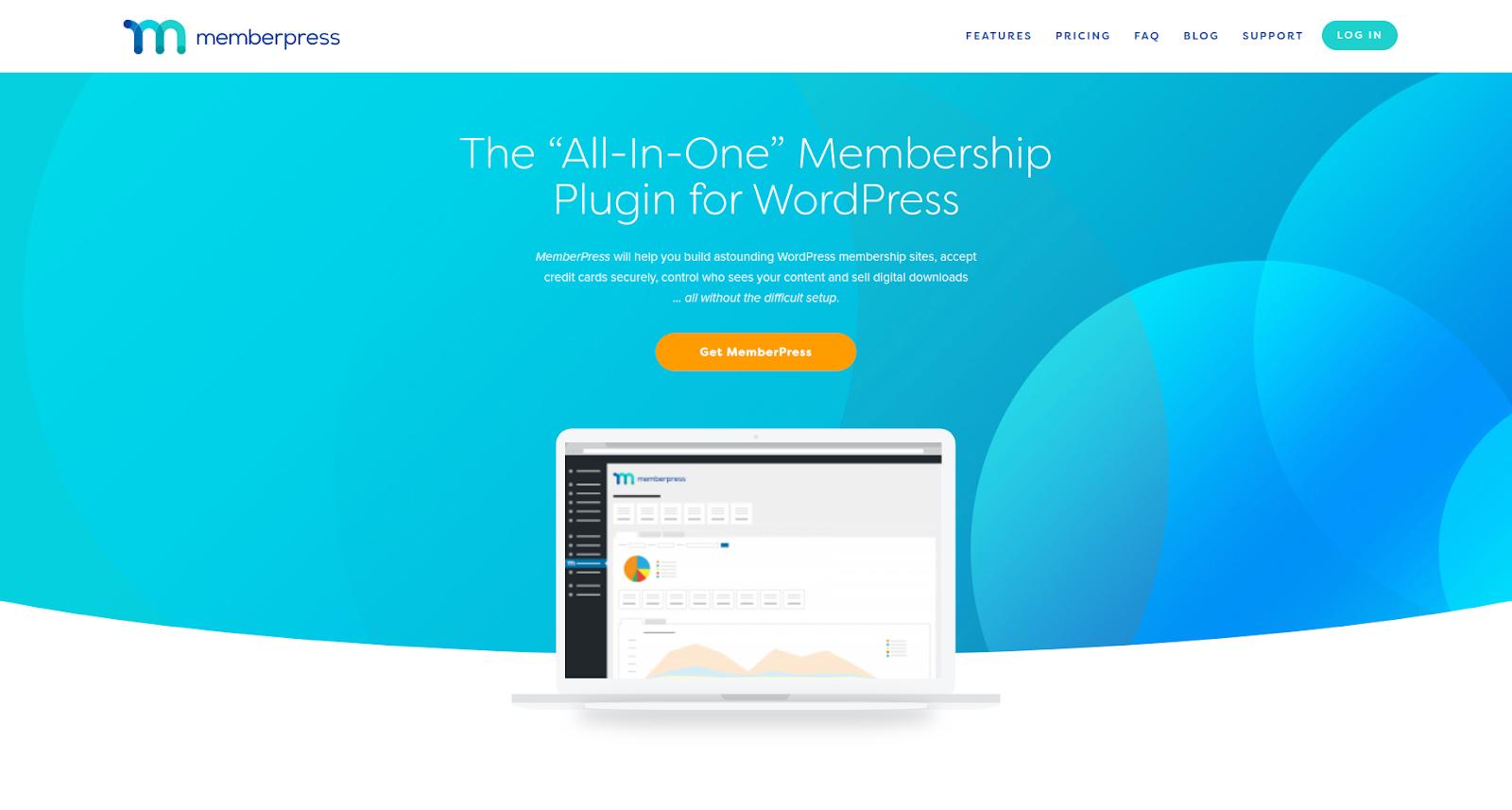 memberpress wordpress membership plugin homepage
