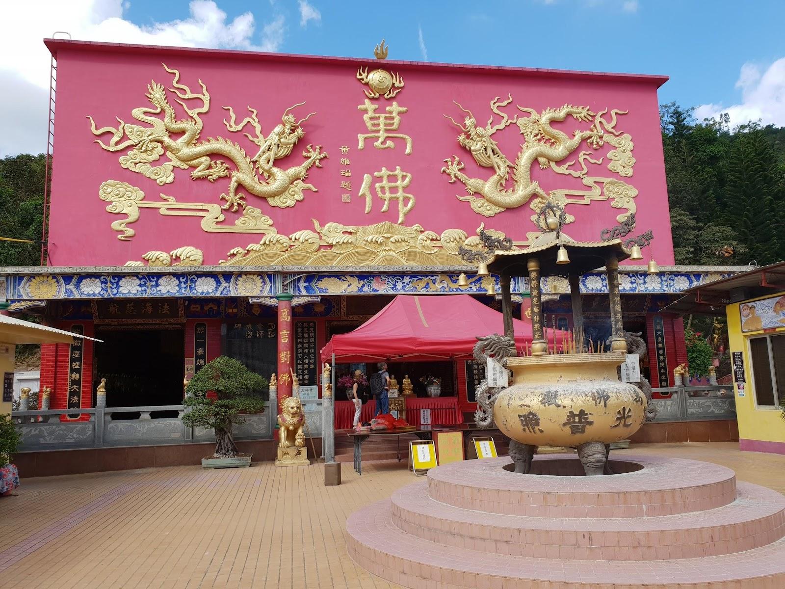 The 10000 Buddhas Hall