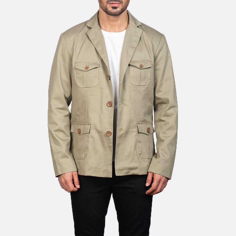 Kajetan Beige Safari Jacket