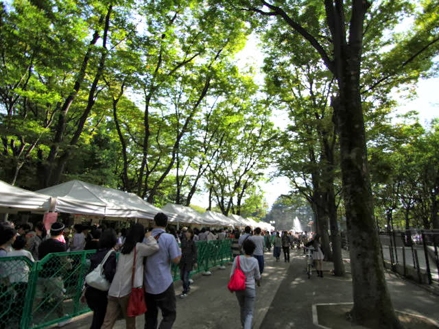 【世田谷パン祭り】に行って「つけ麺」を食べてきた