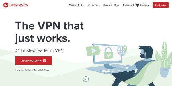 ExpressVPN Best VPNs 600x300