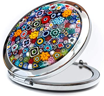 Murano Glass Purse Mirror