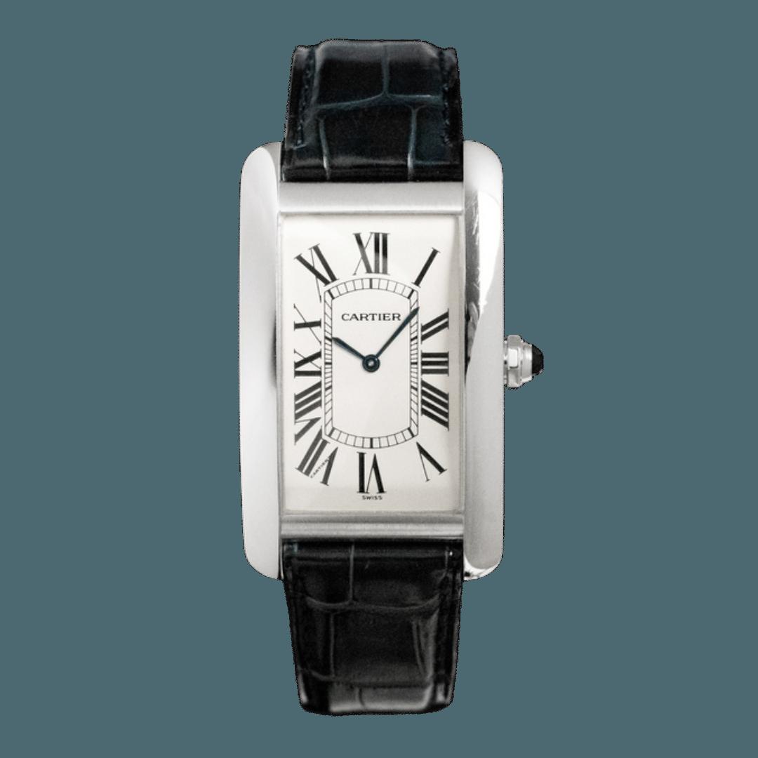 Photo of a Cartier Tank Américaine watch