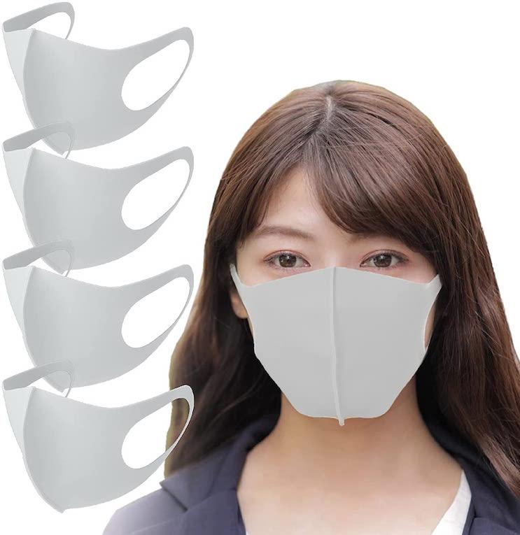 東京 西川 日本製 洗える 接触冷感マスク