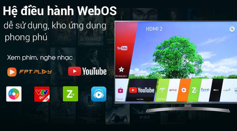 Smart TV LG 4K 49 inch 49SK8500PTA