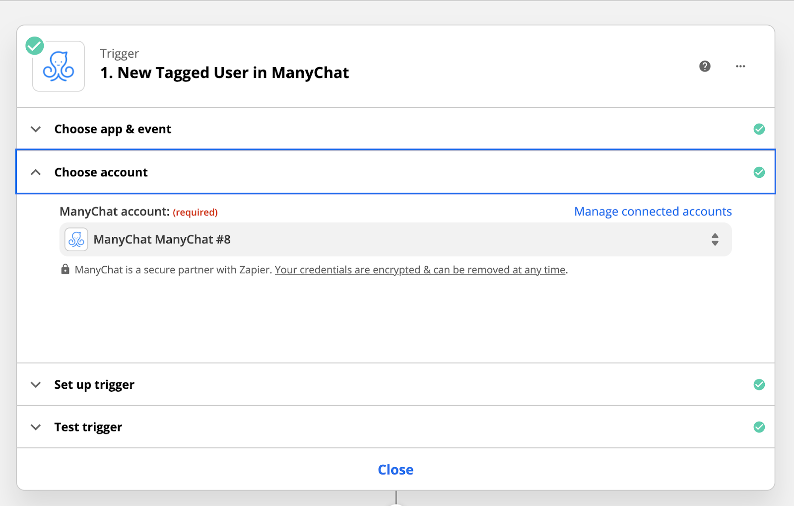 Zapier and ManyChat for webinars