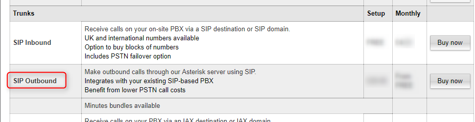 Configuration Guide for the UK SIP Trunk Provider Gradwell