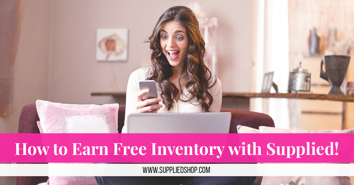 How to Earn Free Inventory with Supplied!
