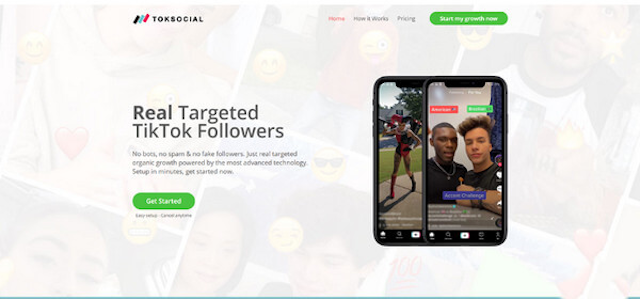 App Toksocial hỗ trợ tăng follow từ người dùng thật