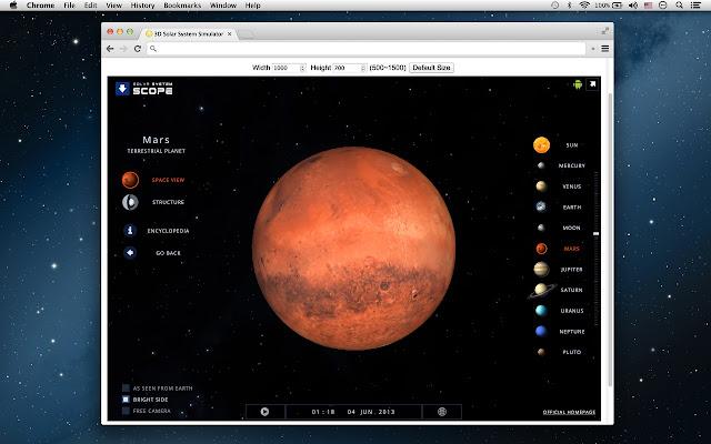 solar system maps simulations - photo #7