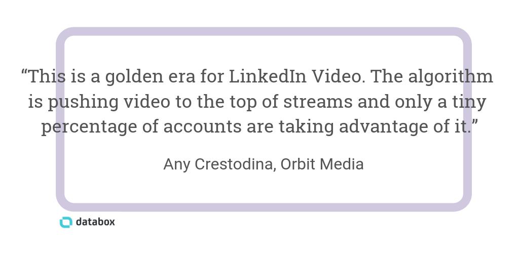 linkedin video quote