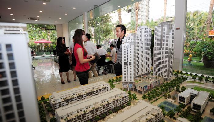 Mô hình sa bàn để xây dựng các chung cư