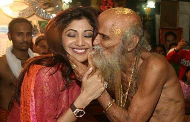 Shilpa Shetty and Baba ji ki Botty…