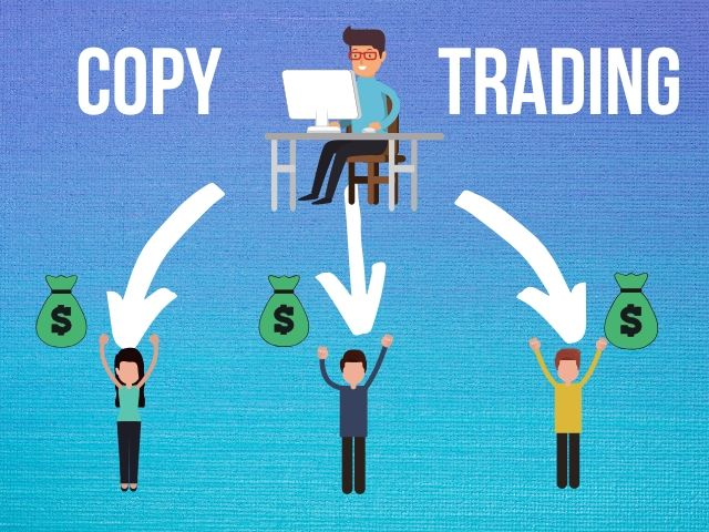 Sơ đồ tương tác của Copy trade