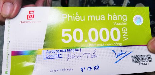 Mua phiếu coopmart giúp bạn chủ động thời gian mua sắm tại siêu thị Coopmart hơn