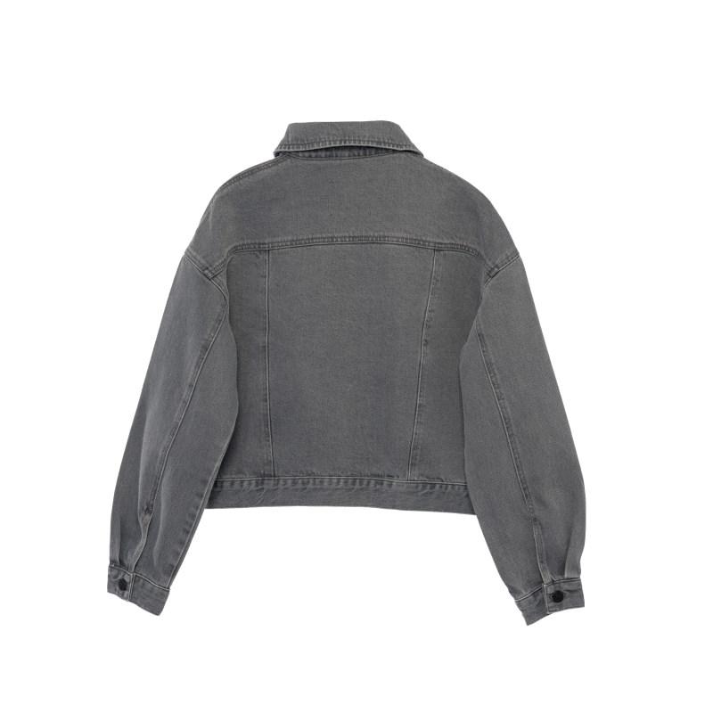 کت زنانه کوی مدل 210 رنگ روشن خاکستری
