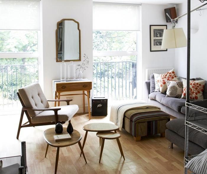 In her London living room, Remodelista