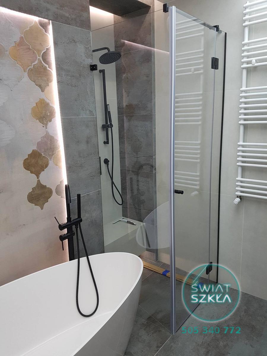 Szklane Inspiracje Prysznic Bez Brodzika