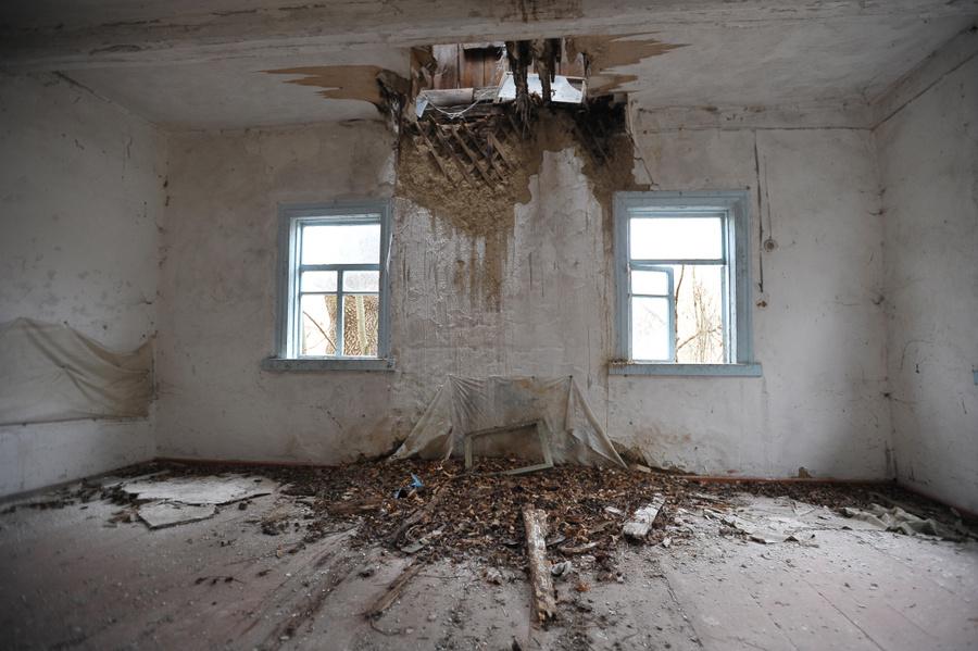 Дом в селе. Фото: Игорь Хомич